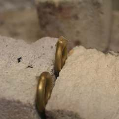 Making the ring for the clasps