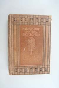 Harmsworth Encyclopaedia book conservation/restoration project