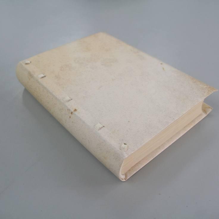 Limp vellum parchment historical bookbinding